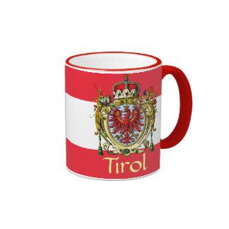 Tyrol Coat of Arms Ringer Coffee Mug