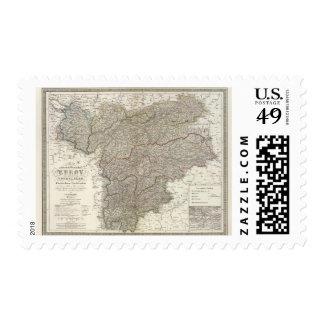 Tyrol, Voralberg, Liechtenstein Postage Stamp