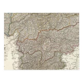 Tyrol, Voralberg, Liechtenstein Postcard