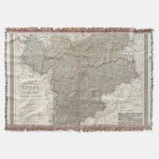 Tyrol, Voralberg, Liechtenstein Throw Blanket