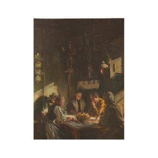Tyrolese Interior , John Singer Sargent (American, Wood Poster