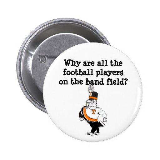 Tyrone band button