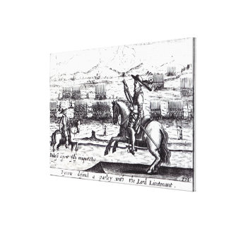 Tyrone Desired a Parley with Lord Lieutenant Canvas Print