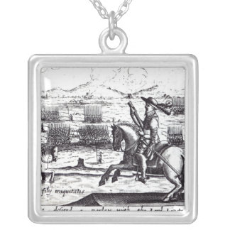 Tyrone Desired a Parley with Lord Lieutenant Silver Plated Necklace