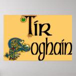 Tyrone (Gaelic) Poster Print