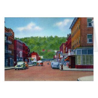 Tyrone Pennsylvania 10th Street Card