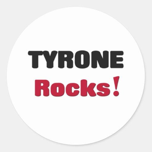 Tyrone Rocks Classic Round Sticker