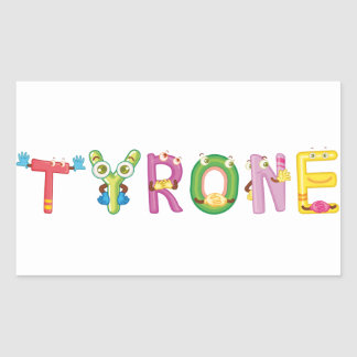 Tyrone Sticker