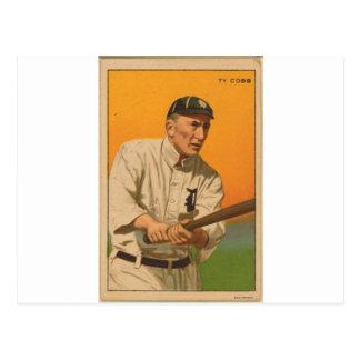 Tyrus Raymond Cobb, Detroit Tigers Postcard