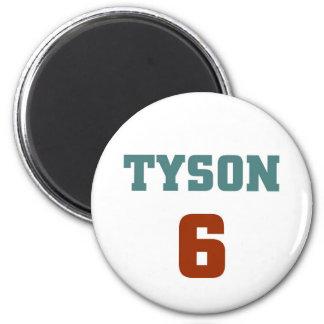 Tyson 6 2 inch round magnet
