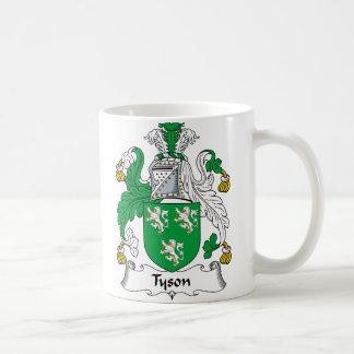 Tyson Family Crest Coffee Mug