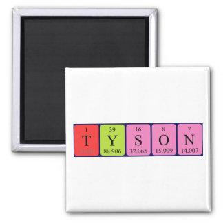 Tyson periodic table name magnet