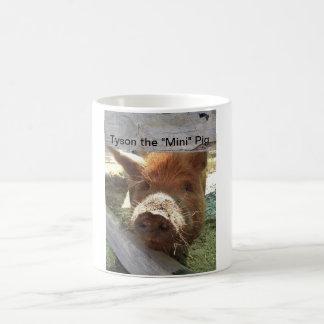 "Tyson the ""Mini"" Pig Coffee Mug"