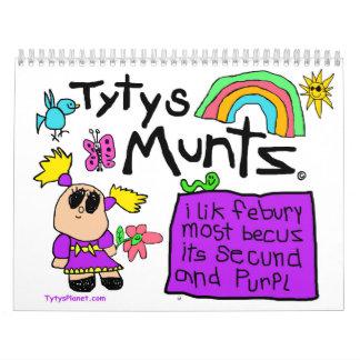Tyty's Months Calendar