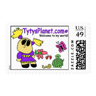 Tyty's Planet Postage Stamp