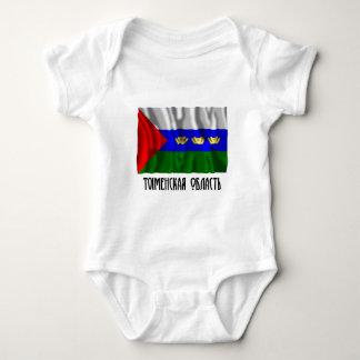 Tyumen Oblast Flag Baby Bodysuit