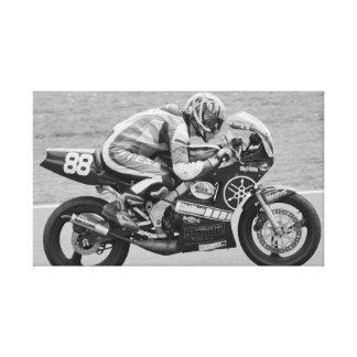 TZ racing motorcycle Canvas Print