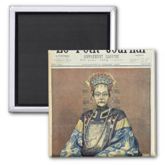 Tz U-Hsi Empress Dowager of China Magnets