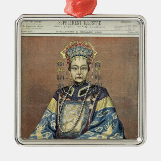 Tz U-Hsi Empress Dowager of China Christmas Ornaments