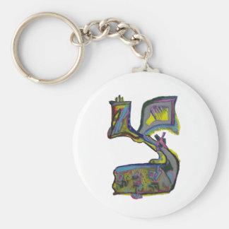 Tzadik Keychain