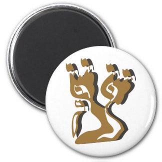 Tzadik Mem Yud Lamed Reish 2 Inch Round Magnet
