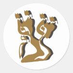 Tzadik Mem Yud Lamed Reish Sticker