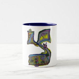 Tzadik Two-Tone Coffee Mug