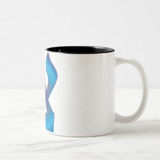 Tzadik Zafiro Two-Tone Coffee Mug