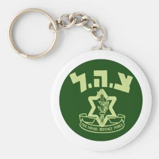Tzahal Shield Key Chains