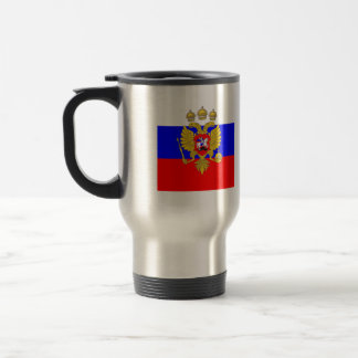 Tzar de Muscovia, bandera de Rusia Taza De Café