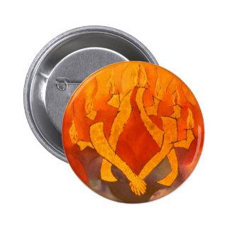 Tzedaka-Caridad Pin Redondo 5 Cm