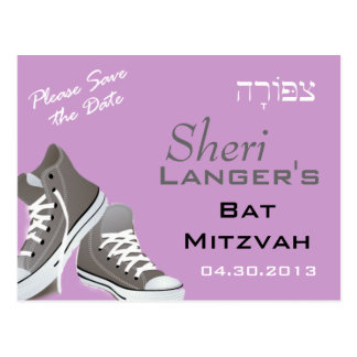 Tziporah Sneakers Postcard