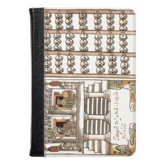 Tzompantli Skull Rack Aztec Temple Kindle Case