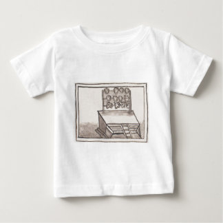 Tzompantli Skull Rack Florentine Codex Baby T-Shirt