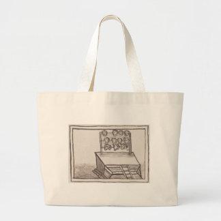 Tzompantli Skull Rack Florentine Codex Jumbo Tote Bag