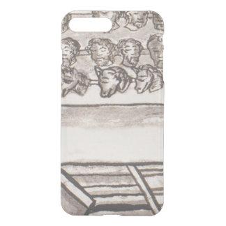 Tzompantli Skull Rack Florentine Codex iPhone 8 Plus/7 Plus Case