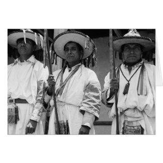 Tzotzil Maya, Magdalenas, Chiapas, Mexico Card