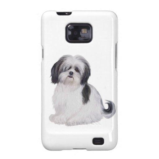 Tzu de Shih (a) - blanco y negro Samsung Galaxy SII Fundas