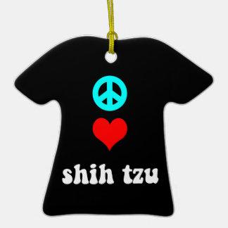 tzu de shih del amor de la paz ornato