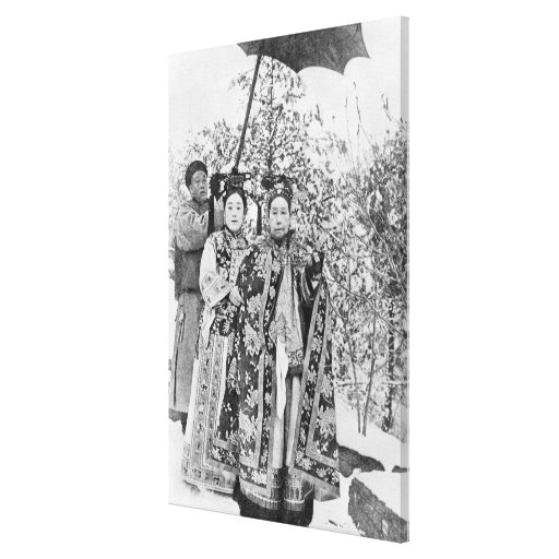 Tz'u Hsi (1835-1908) Empress Dowager of China, c.1 Stretched Canvas Prints