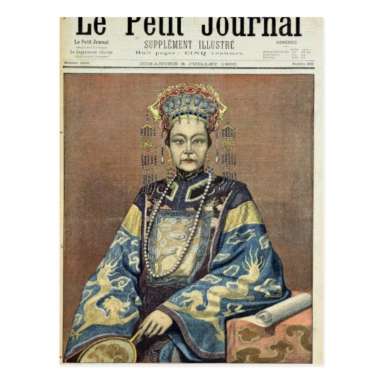 Tz'U-Hsi  Empress Dowager of China Postcard