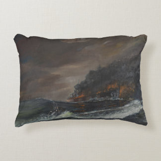 U107 750 days 1993 decorative pillow