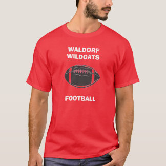 u11721864, WALDORF WILDCATS, FOOTBALL T-Shirt