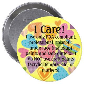 ¡u19329069, cuido! , Utilizo solamente FDA obedien Pin Redondo 10 Cm