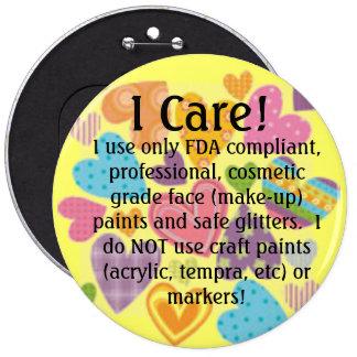 u19329069, I Care!, I use only FDA compliant, p... Buttons