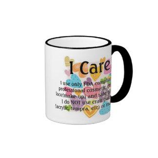 u19329069, u19329069, I Care!, I use only FDA c... Ringer Mug