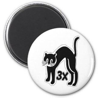 u48 cat times 3 magnet