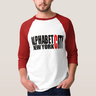 U59 Alphabet City NYC Shirt