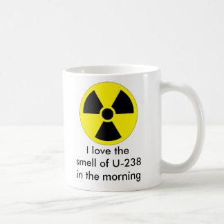 U-238 is HOT Classic White Coffee Mug