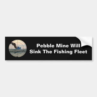 U-29 - Stop Pebble Mine Bumper Sticker